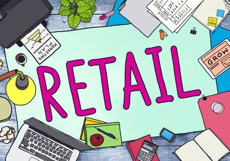 Retail Market Price Consumer Buying Concept Stock Photo