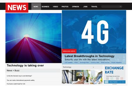 4g: 4G Technology Communication Networking Internet Online Concept Stock Photo