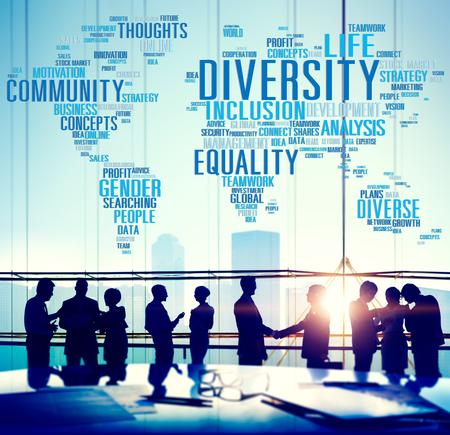 poblacion: Diversity Community Population Business People Concept Foto de archivo