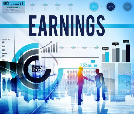 earning: Earning Income Profit Finance Economy Concept Stock Photo