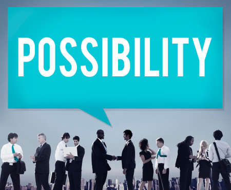 Possibility Possible Occasion Hope Feasibility Concept Stock Photo