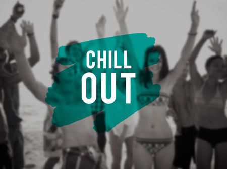 frienship: Chill Out Leisure Bonding Enjoying Frienship Freedom Concept