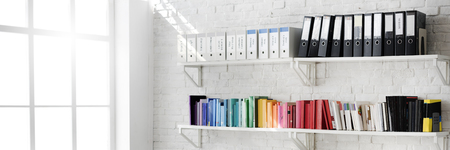 Contemporary Room Workplace Office Supplies Concept Stockfoto