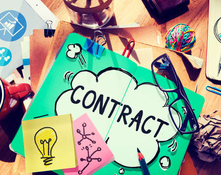 barter: Contract Deal Agreement Negotiation Commitment Concept