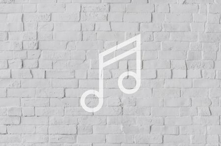 crotchets: Melody Music Sound Key Artistic Icon Sign Concept