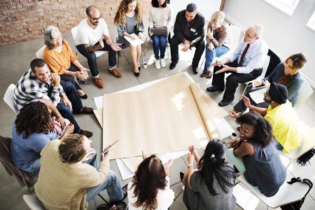 Pracy zespołowej Meeting Uruchom Concept