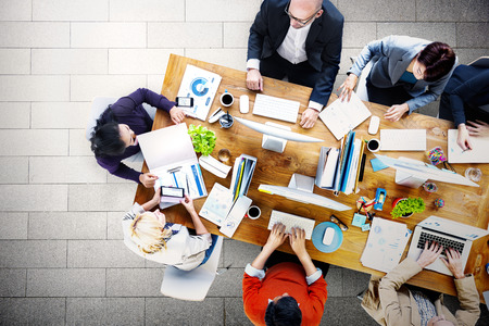 회의 세미나 컨퍼런스 브레인 스토밍 비즈니스 개념 스톡 콘텐츠