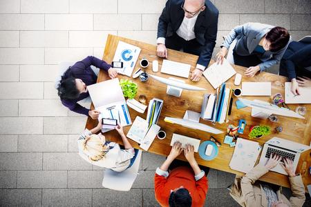 oficina: Reunión Conferencia Seminario Lluvia de Concepto de negocio