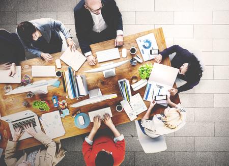 administracion de empresas: Reunión Conferencia Seminario Lluvia de Concepto de negocio