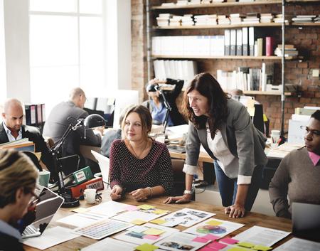 La gente de negocios Reunión Design Ideas Concept Foto de archivo - 52452845