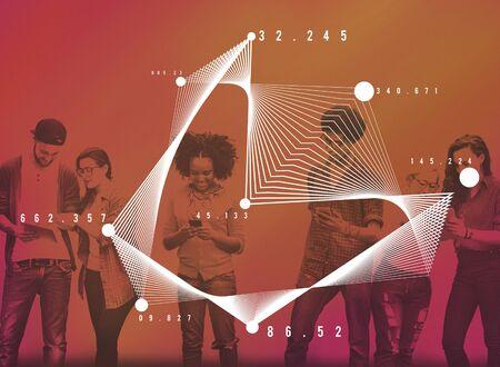 obra social: Mathematics Analysis Statistics Networking Geometry Concept