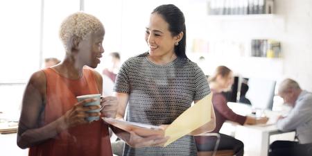 La gente de negocios Reunión de Trabajo Discusión concepto de oficina