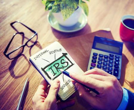 irs: Internatl Revenue Service IRS Finance Taxation Government Concept