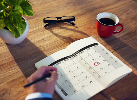 Calender Planner 조직 관리 생각하기 개념