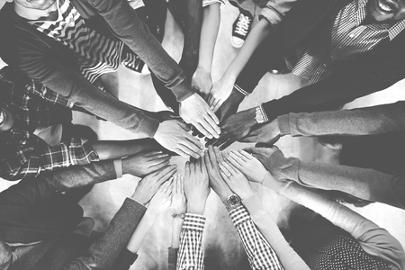 collaboration: Team Teamwork Togetherness Collaboration Concept Stock Photo
