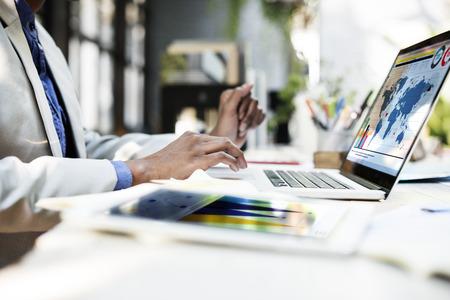 estrategia: Pensando Plan de Concepto del ordenador portátil de Planificación Estratégica de Trabajo