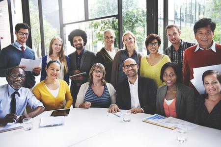 Mensen Meeting Communicatie Corpoate Teamwork Concept