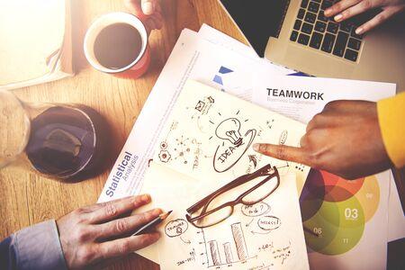 vision concept: Idea Ideas Imagination Innovation Strategy Vision Concept Stock Photo