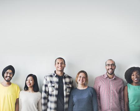 Persone Diversità Amici Amicizia Felicità