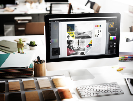 Design Studio Creativiteit Idee Wood Palet Decoration Concept