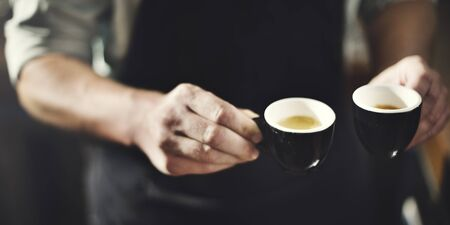 Cafe Coffee Cup Drinking Leisure Beverage Aroma Concept Stock Photo - 52462336