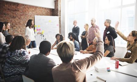 Réunion Voyage d'affaires équipe Discussion Concept