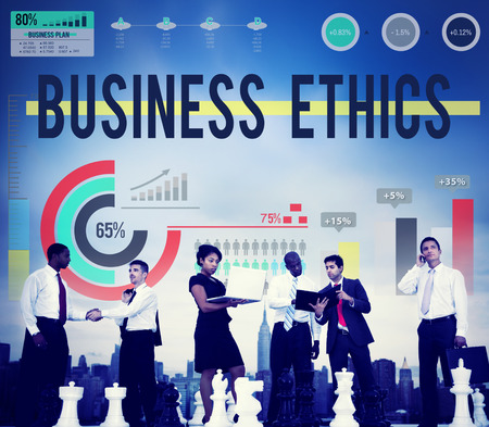 People with business ethnics concept