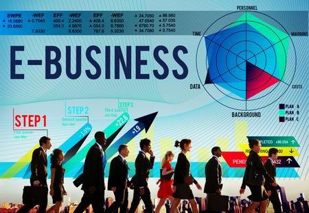 digital marketing: E-Business Global Business Digital Marketing Concept