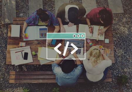 programing: Programing Coding Script Technology Website Program Concept