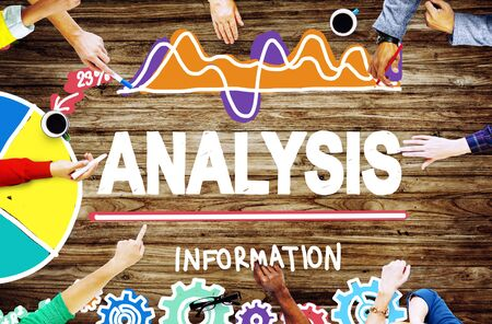 information analysis: Analysis Analytics Analyze Data Information Statistics Concept Stock Photo