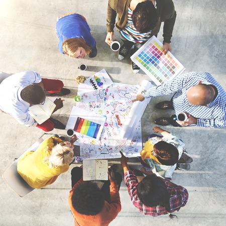 reunion de personas: La gente Reuni�n Comunicaci�n Social Corporativa Concepto Trabajo en equipo Foto de archivo