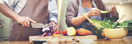 가족 요리 주방 음식 동반자 개념 스톡 콘텐츠 - 52477865