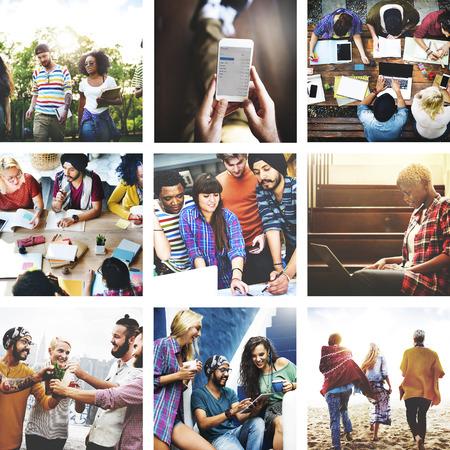 52478700-collage-friendship-bonding-memo