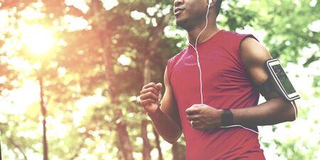 Exercise Athlete Playlist Gadget Smartphone Sporty Concept