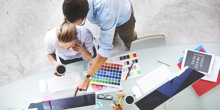ドキュメントの概念を作業管理ビジネス会議