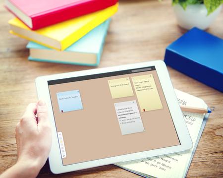Notepad Reminder Remember List Planning Concept