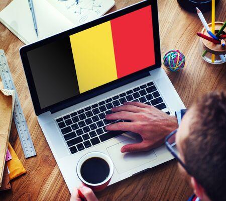belgium flag: Belgium Flag Country Nationality Liberty Concept