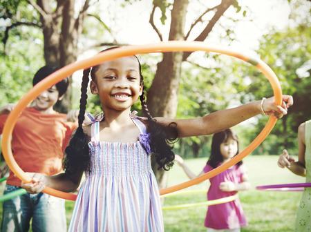 Child Children Childhood Fun Playful Activity Kids Concept Stock Photo