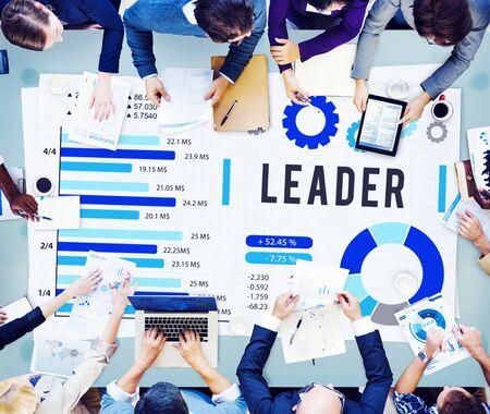 authority: Leader Leadership Authority Coach Concept Stock Photo