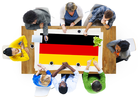 german ethnicity: Germany Country Flag Nationality Culture Liberty Concept