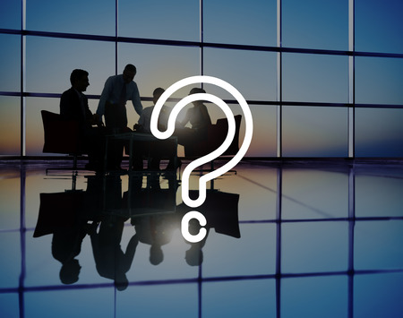 Vraagteken vragen Verwarring Thought FAQ Concept