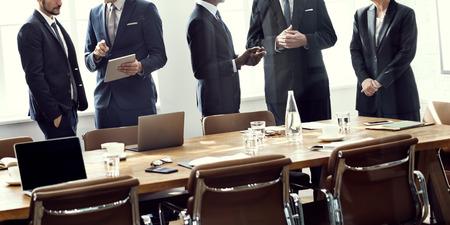Salle de réunion Collaboration Brainstorming Bureau Concept