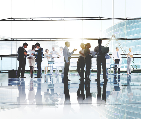 networking people: Business People Working Working Corporate Concept Stock Photo