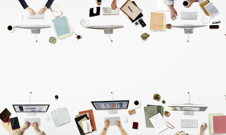occupation: Office Professional Occupation Business Corporate Concept Stock Photo