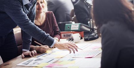 gente trabajando: La gente de negocios Reunión Design Ideas Concept