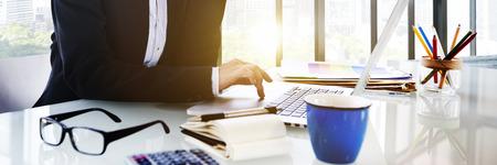 administracion de empresas: Administraci�n de Negocios Conferencia de Trabajo Concepto de documento Foto de archivo