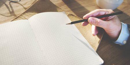 correspondence: Writing Communication Message Correspondence Concept Stock Photo