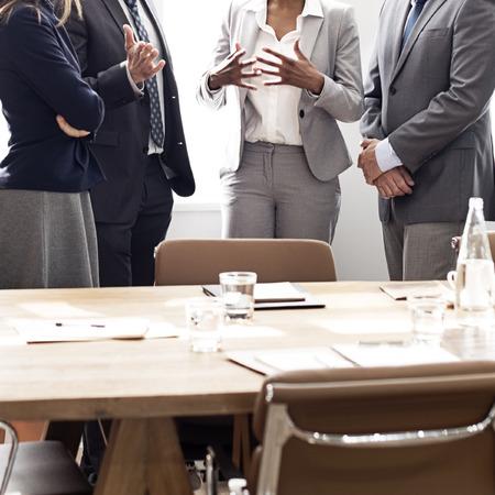 LIDER: Concepto de Trabajo Estrategia Business Group Meeting Discusi�n
