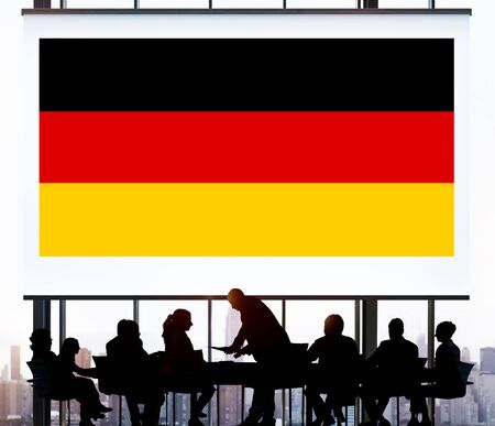 nationality: Germany Country Flag Nationality Culture Liberty Concept
