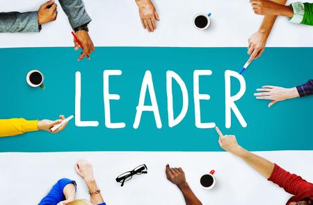 Concepto Liderazgo Líder de Gestión de Entrenamiento